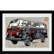 VW Haynes Campervan - 30x40 Collector Prints