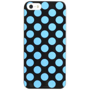 Cygnett Polkadot Case for iPhone 5 - Black / Blue