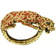 Rosie Fox Bronze Leopard cuff