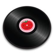 Image of Joseph Joseph Worktop Saver Chopping Board - Tomato Vinyl