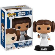 Figura Pop! Vinyl Bobble Head Princesa Leia - Star Wars