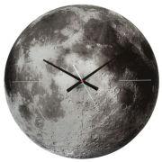 Karlsson Moon Silent Movement Wall Clock - Copper Mirror Glass