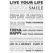 Live Your Life - Maxi Poster - 61 x 91.5cm