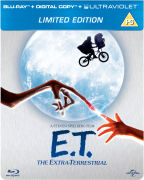 E.T. The Extra-Terrestrial - Limited Edition Steelbook (Includes Digital and UltraViolet Copy)