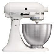 Image of Kitchenaid K45SS Classic Mixer - White