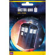Doctor Who The Tardis  Vinyl Sticker  10 x 15cm