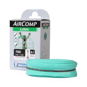 Image of Michelin A1 Aircomp Latex Road Inner Tube - 700c x 22-23mm - Presta 60mm