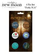 Twilight New Moon - Pin Set Of 6 Forks, Wa