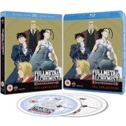 Fullmetal Alchemist Brotherhood 4 - Blu-Ray and DVD (Includes Digital Comic)