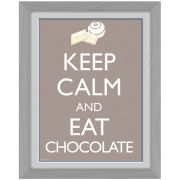 Keep Calm Chocolate - 30 x 40cm Collector Prints