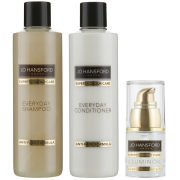Jo Hansford Expert Colour Care Everyday Shampoo Conditioner (250ml) with Mini Illuminoil (15ml)