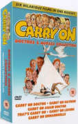 Carry On Boxset - Doctors And Nurses Collection