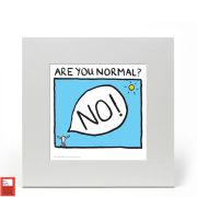Edward Monkton Fine Art Print - Are You Normal