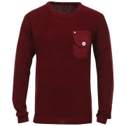 Humor Men's Pato Crew Neck Jumper - Red