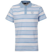 Sergio Tacchini Men's Drop Out Polo - White/Blue