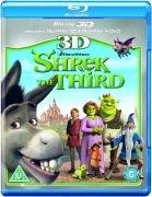 Shrek the Third 3D (3D Blu-Ray, 2D Blu-Ray en DVD)