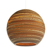 Image of Graypants Moon Pendant Lamp - 18 Inch