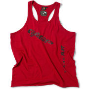 GASP Vintage T-Back Tank - Chili Red