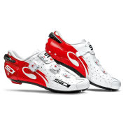 Sidi Wire Carbon Vernice Cycling Shoes  WhiteRed  EU 38UK 4