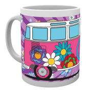 VW Camper Hippy Mug