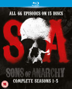Sons of Anarchy - Seasons 1-5