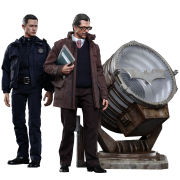 Hot Toys DC Comics Batman John Blake and Jim Gordon with Bat Signal 1:6 Scale Set