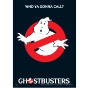 Ghostbusters Who You Gonna Call? Postcard