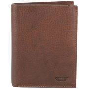 OSPREY LONDON Conker Large Leather Coin Wallet  Chocolate