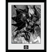 DC Comics Batman Comic Hook - Framed Photographic - 16 x 12inch