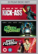 The Green Hornet KickAss Scott Pilgrim Vs. The World