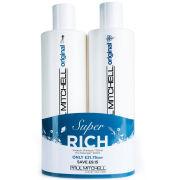 Paul Mitchell Awapuhi Shampoo and Detangler 500ml Duo (Worth £30.90)