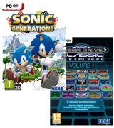 Sonic Generations avec Sega Mega Drive Classic Collection: Volume 1