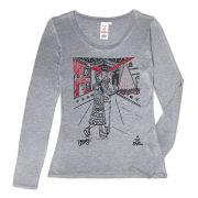Ben Mosely Women's Long Sleeved T-Shirt - Grey