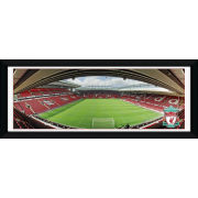 """Liverpool Anfield - 30"""""""" x 12"""""""" Framed Photographic"""