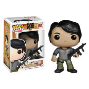 The Walking Dead Prison Glenn Pop Vinyl Figure