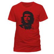 Che Guevara Men's T-Shirt - Red Face