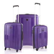 Redland 3 Piece Luggage Set  Purple