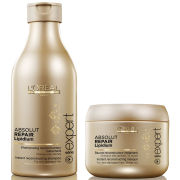 L'Oreal Professionnel Absolut Repair Lipidium Shampoo (250ml) & Masque (200ml) (Bundle)