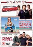 Funny People / Superbad / Forgetting Sarah Marshall