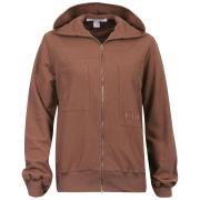 Chloe Women's Hooded Jacket - Brown