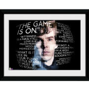 Sherlock Sherlock Quotes - 16x12 Framed Photographic