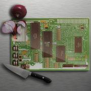 Motherboard Hackbrett