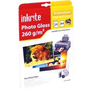 Inkrite PhotoPlus Professional Paper Photo Gloss 260gsm A4 (20 sheets)