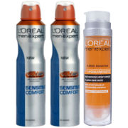 L'Oreal Paris Men Expert Sensitive Comfort Bundle