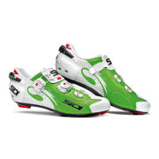 Sidi Wire Carbon Air Vernice Cycling Shoes  WhiteGreen  EU 38UK 4