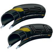 Image of Continental GP Attack II and Force II Clincher Road Tyres - 700c x 23-25mm