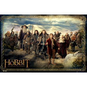 The Hobbit Cast - Maxi Poster - 61 x 91.5cm