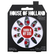 House of Holland Nails Created by Elegant Touch – Thorn in my Side