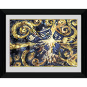 Doctor Who Exploding Tardis - 30 x 40cm Collector Prints