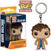 Doctor Who 10th Doctor Pocket Pop! Schlüsselanhänger